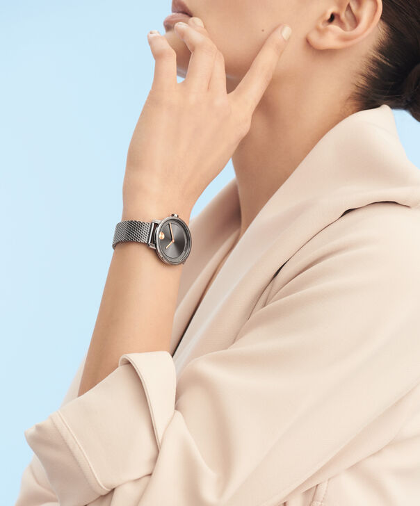 MOVADO Movado BOLD3600581 – 34 mm grey bracelet watch - Other view