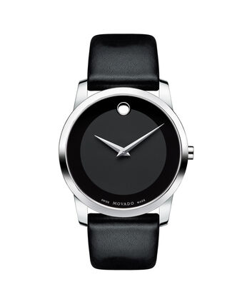 MOVADO Museum Classic0606502 – Men's 40 mm strap watch - Front view