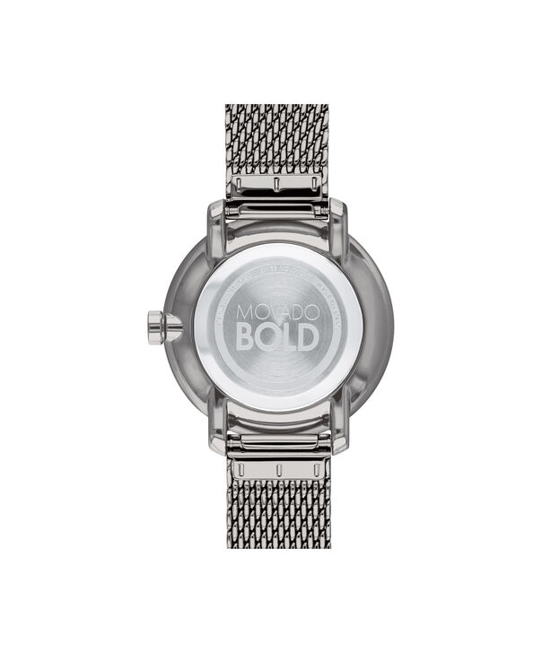 MOVADO Movado BOLD3600581 – 34 mm grey bracelet watch - Back view