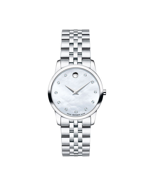 MOVADO Museum Classic0606612 – Women's 28 mm bracelet watch - Front view