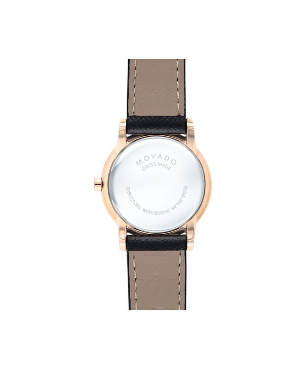 MOVADO Museum Classic0607206 – Women's 28 mm strap watch - Back view