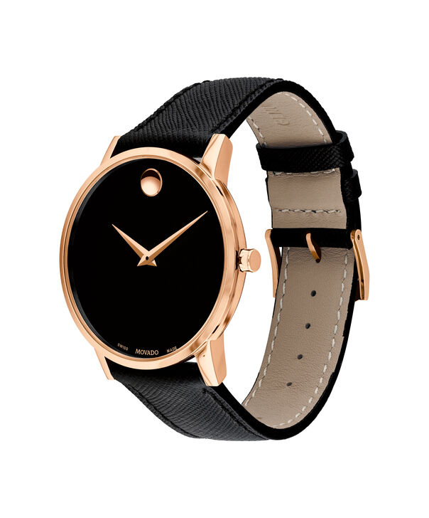 MOVADO Museum Classic0607196 – Men's 40 mm strap watch - Side view